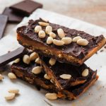 BEST Keto Chocolate Bars! Low Carb Keto Chocolate Peanut Butter Bars Idea – Sugar Free – Quick & Easy Ketogenic Diet Recipe – Completely Keto Friendly