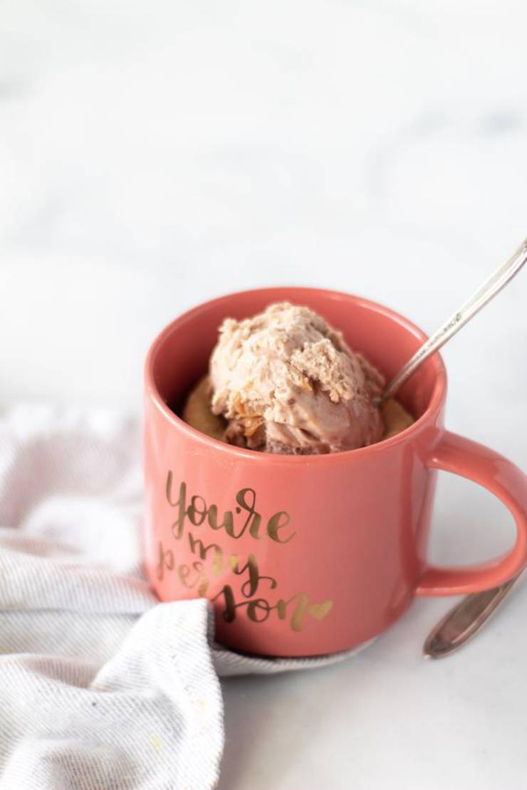 BEST Keto Mug Cakes! Low Carb Keto Microwave Peanut Butter Chocolate Chip Mug Cake Idea – Quick & Easy Ketogenic Diet Recipe – Completely Keto Friendly