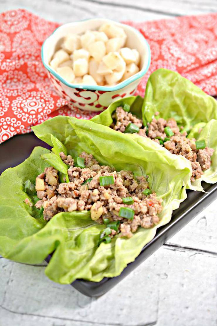 BEST Keto Lettuce Wraps ! Low Carb Keto PF Changs Copycat Chicken Lettuce Wraps Recipe – Asian – Gluten Free EASY Keto Friendly Idea