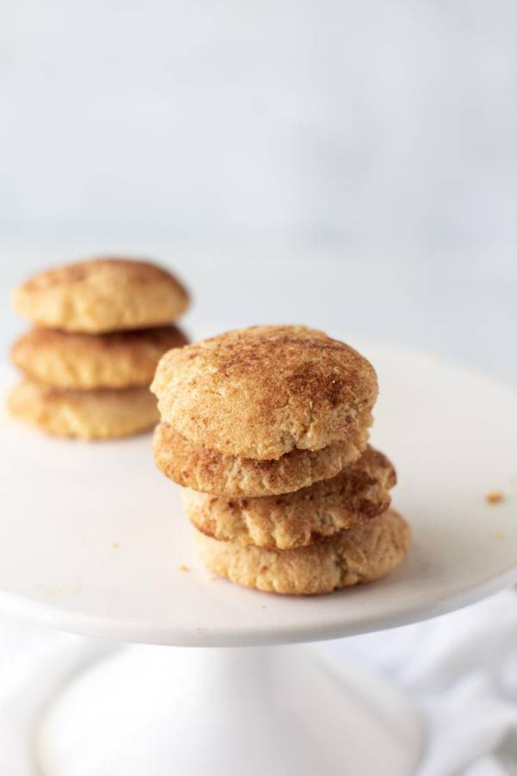 BEST Keto Snickerdoodle Cookies! Low Carb Snickerdoodle Cookie Idea – Quick & Easy Ketogenic Diet Recipe – Completely Keto Friendly