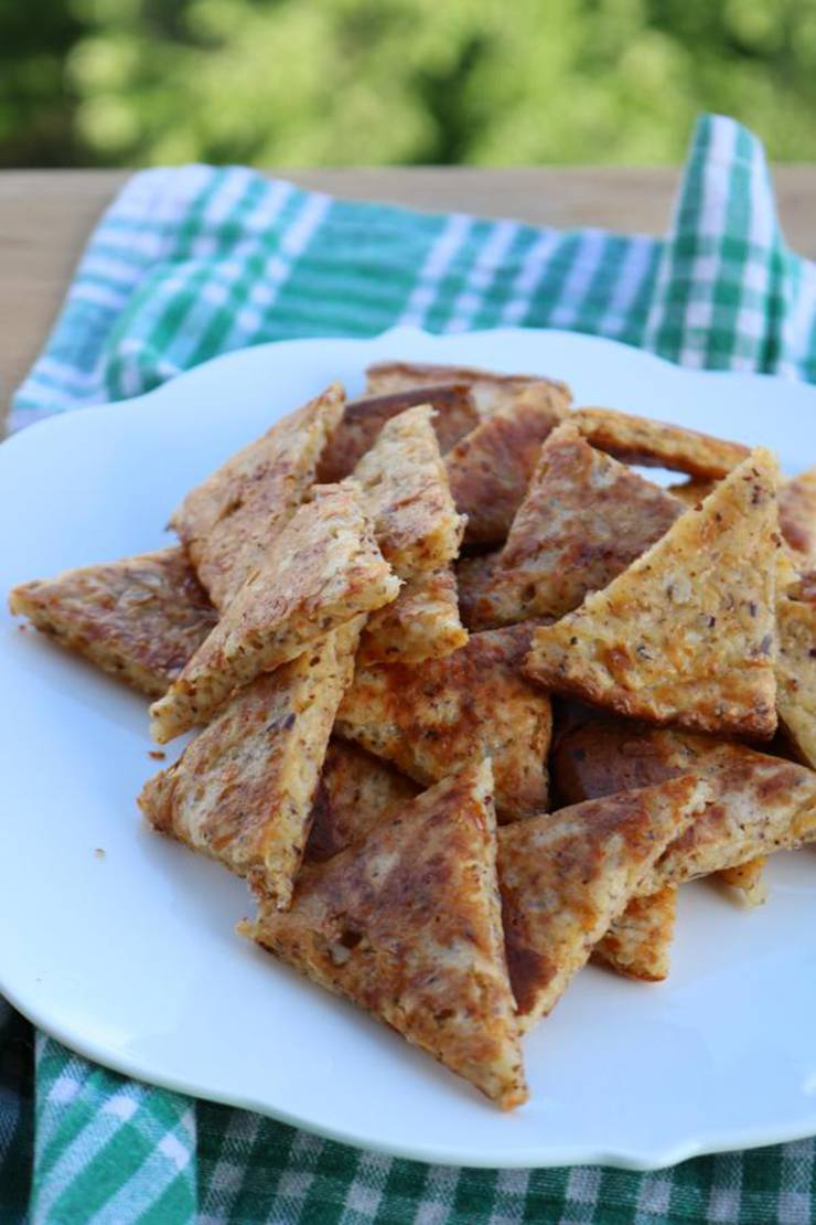 BEST Keto Chips! Low Carb Keto Tortilla Chip Idea– Gluten Free - Quick & Easy Ketogenic Diet Recipe – Completely Keto Friendly