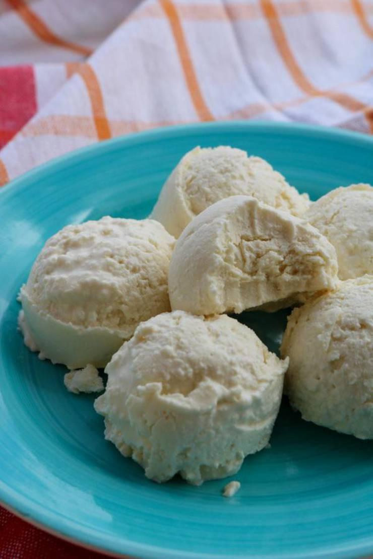 4 Ingredient Keto Fat Bombs – BEST Vanilla Fat Bombs – {Easy - NO Bake} NO Sugar Low Carb Recipe