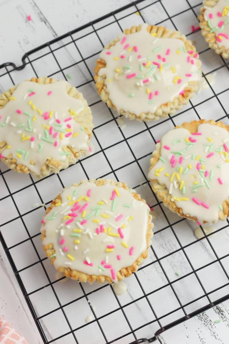 Weight Watchers Strawberry Poptarts - BEST WW Recipe - Gluten Free - Dessert - Breakfast - Treat - Snack with Smart Points