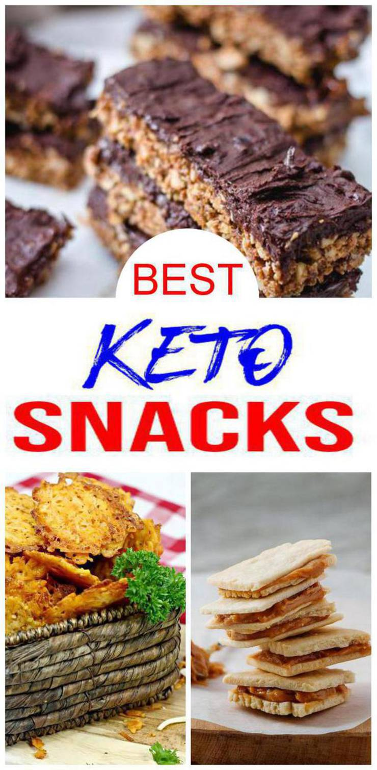 9 Keto Snack Recipes – BEST Low Carb Keto Snack Ideas – Easy Ketogenic Diet Ideas