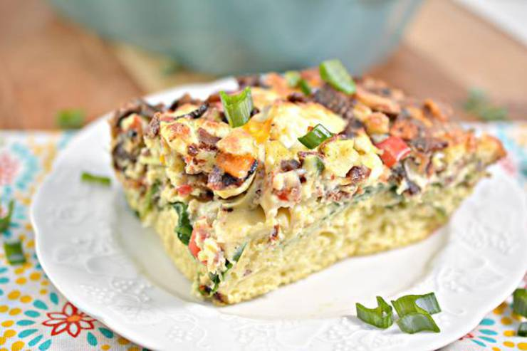 Keto Breakfast Casserole! BEST Low Carb Keto Bacon Cheese Egg Casserole Idea – Quick & Easy Ketogenic Diet Recipe – Completely Keto Friendly
