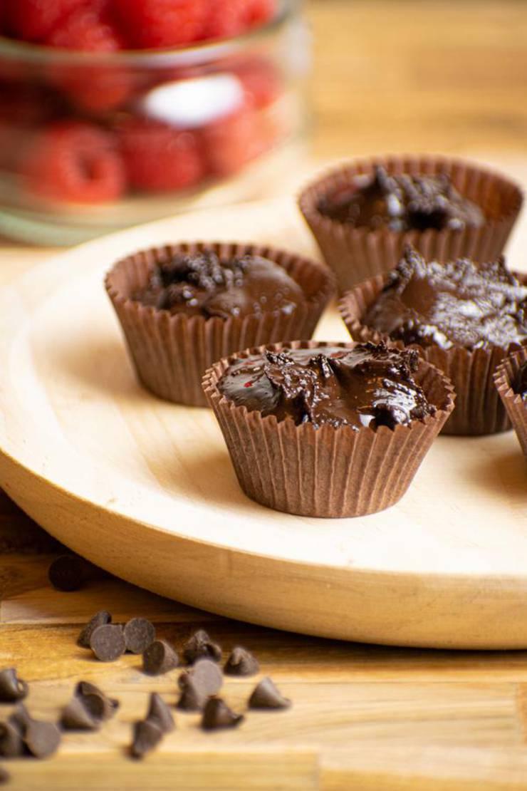 4 Ingredient Keto Brownie Fat Bombs – BEST Chocolate Fudge Brownie Fat Bombs – {Easy - NO Bake} NO Sugar Low Carb Recipe