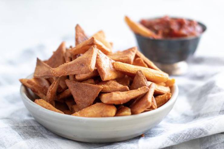 BEST Keto Chips! Low Carb Keto Tortilla Chip Idea – 1 Net Carb Easy Ketogenic Diet Recipe - Gluten Free