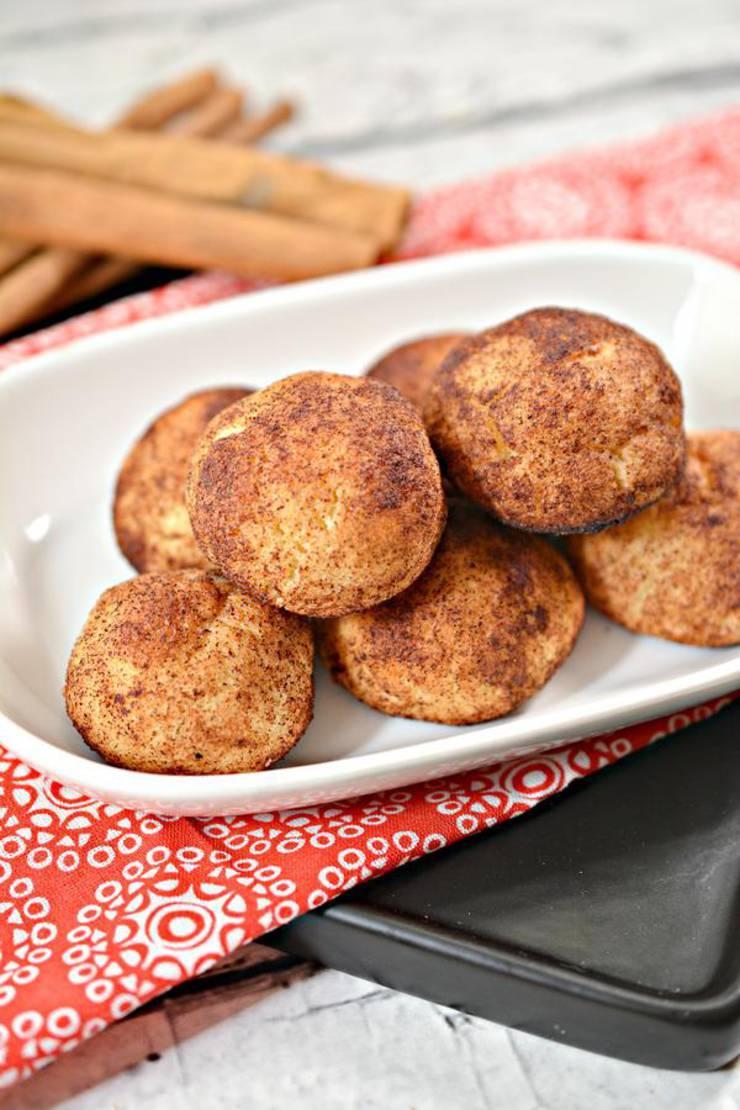 BEST Keto Bagels! Low Carb Keto Cinnamon Sugar Bagel Bites Idea – Quick & Easy Ketogenic Diet Recipe – Breakfast - Snack - Dessert