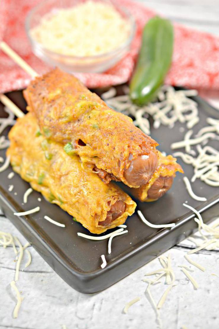 Keto Hot Dogs! BEST Low Carb Keto Jalapeno Popper Cheese Wrapped Hot Dog Idea – Quick & Easy Ketogenic Diet Recipe – Completely Keto Friendly