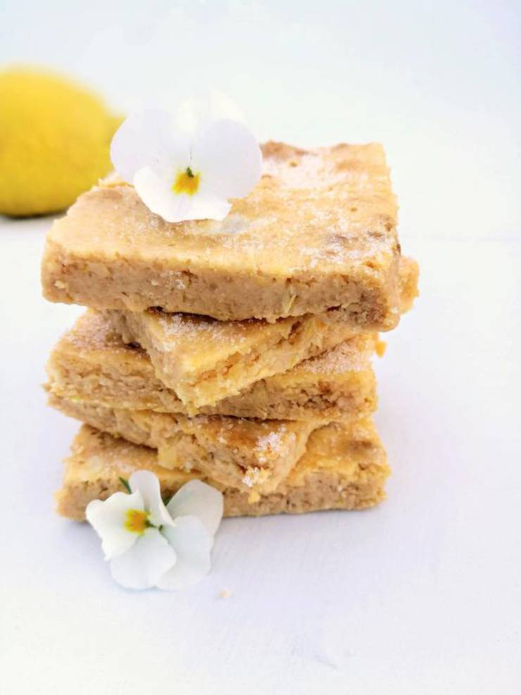 BEST Keto Lemon Bars! Low Carb Keto Lemon Bars Idea – Sugar Free – Quick {Easy} Ketogenic Diet Recipe – Completely Keto Friendly