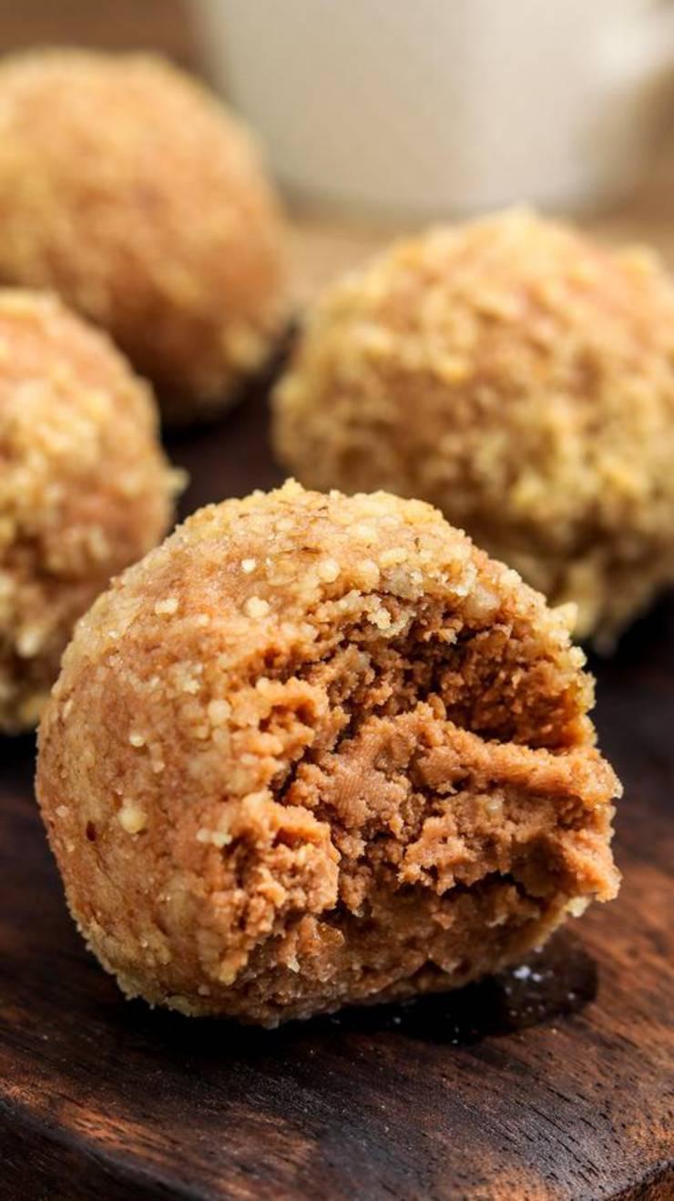 Keto Fat Bombs! BEST Cream Cheese Mocha Macadamia Nut Fat Bombs – {Easy – NO Bake} NO Sugar Low Carb Recipe