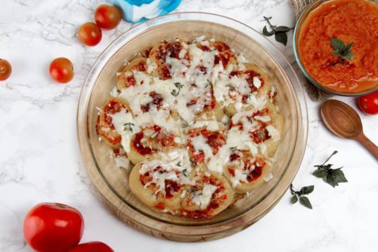 Keto Pizza – Low Carb Keto Pizza Rolls - Bites – Healthy Gluten Free Recipe {Easy}