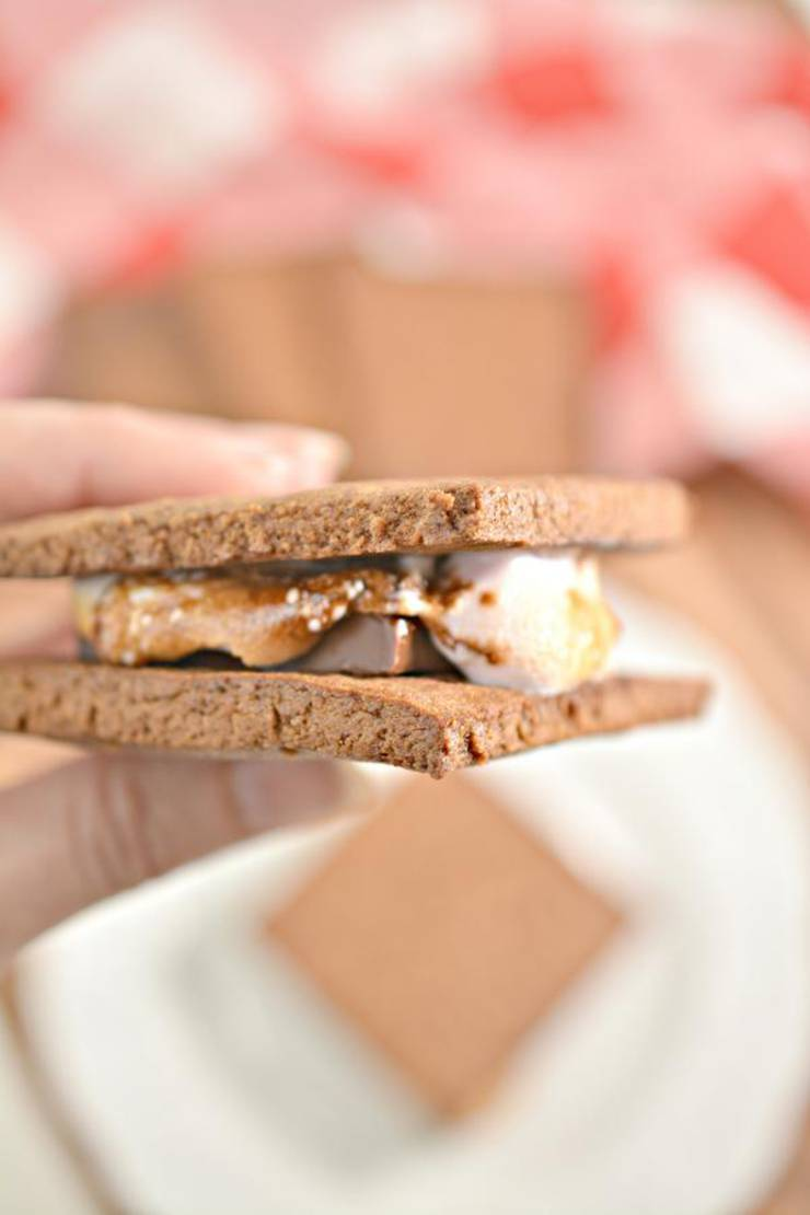 Keto Smores! BEST Low Carb Keto Chocolate Marshmallow Graham Cracker Smores Idea – Quick & Easy Ketogenic Diet Recipe – Completely Keto Friendly