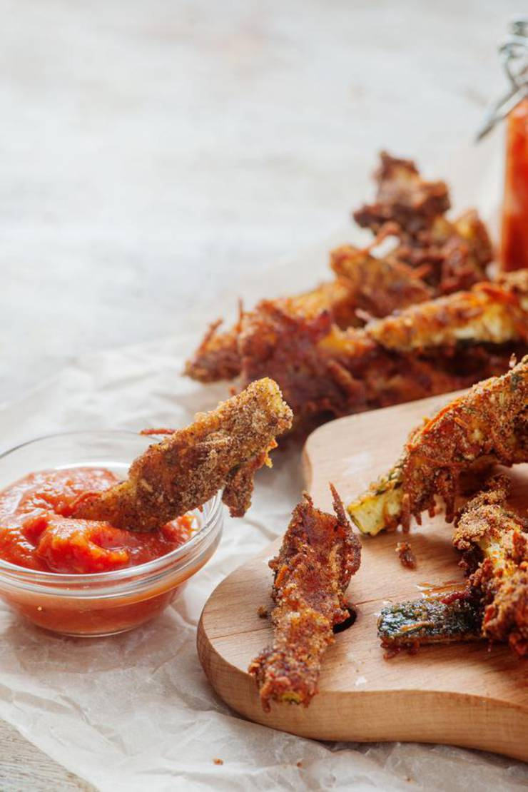 Keto Zucchini Fries - Low Carb Recipe