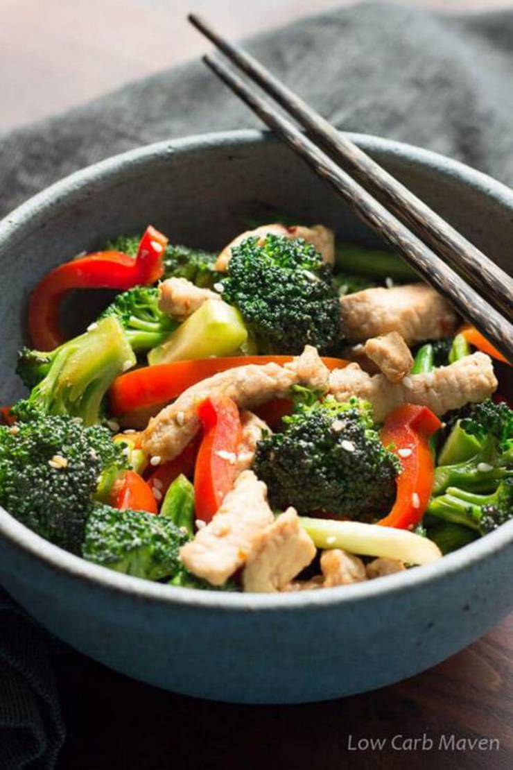Low Carb Easy Pork Stir Fry Recipe