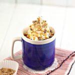 Microwave Mug Cake Recipe - Easy Microwave Chocolate Heath Bar Mug Cake For One - Simple Baking