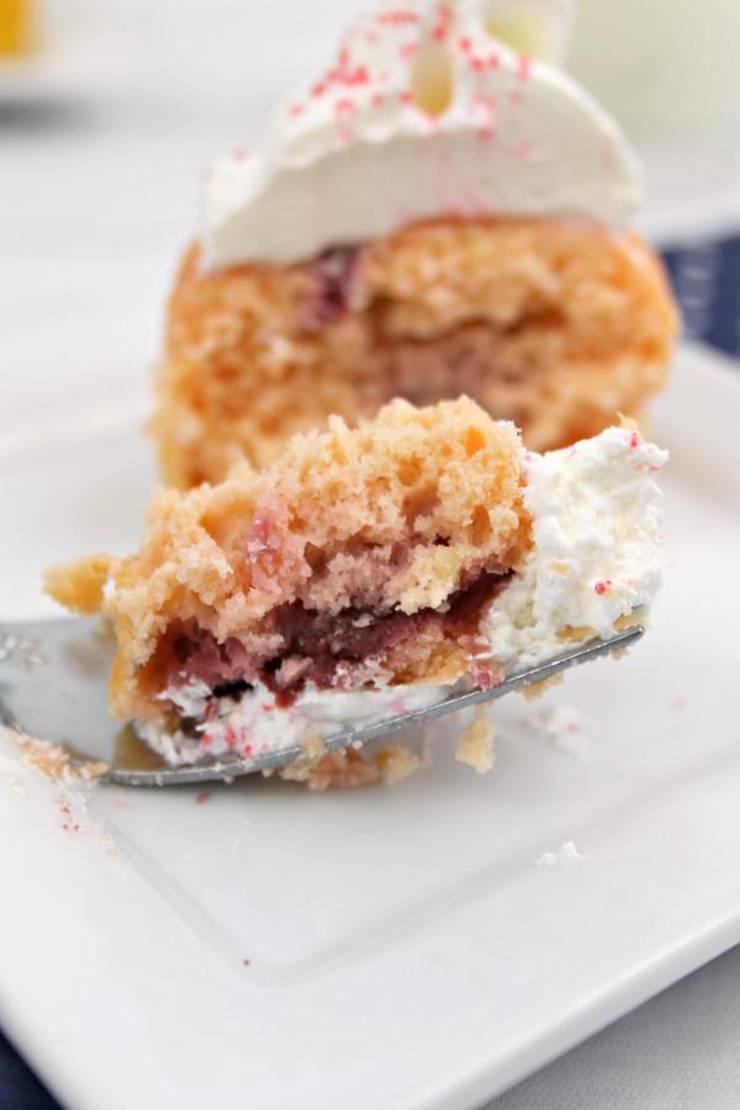 5 Ingredient Weight Watchers Raspberry Lemonade Cupcakes – BEST WW Recipe – Dessert – Treat – Snack with Smart Points