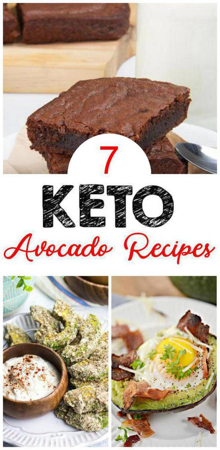 7 Keto Avocado Recipes – BEST Low Carb Keto Avocado Ideas – Easy Ketogenic Diet Ideas