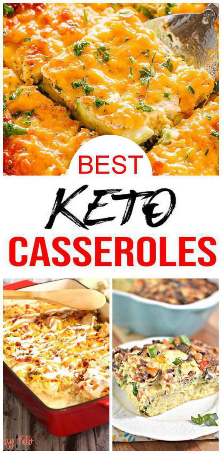 15 Keto Casseroles | BEST Low Carb Casserole Recipes - Breakfast - Lunch - Dinner | Ketogenic Diet Comfort Foods