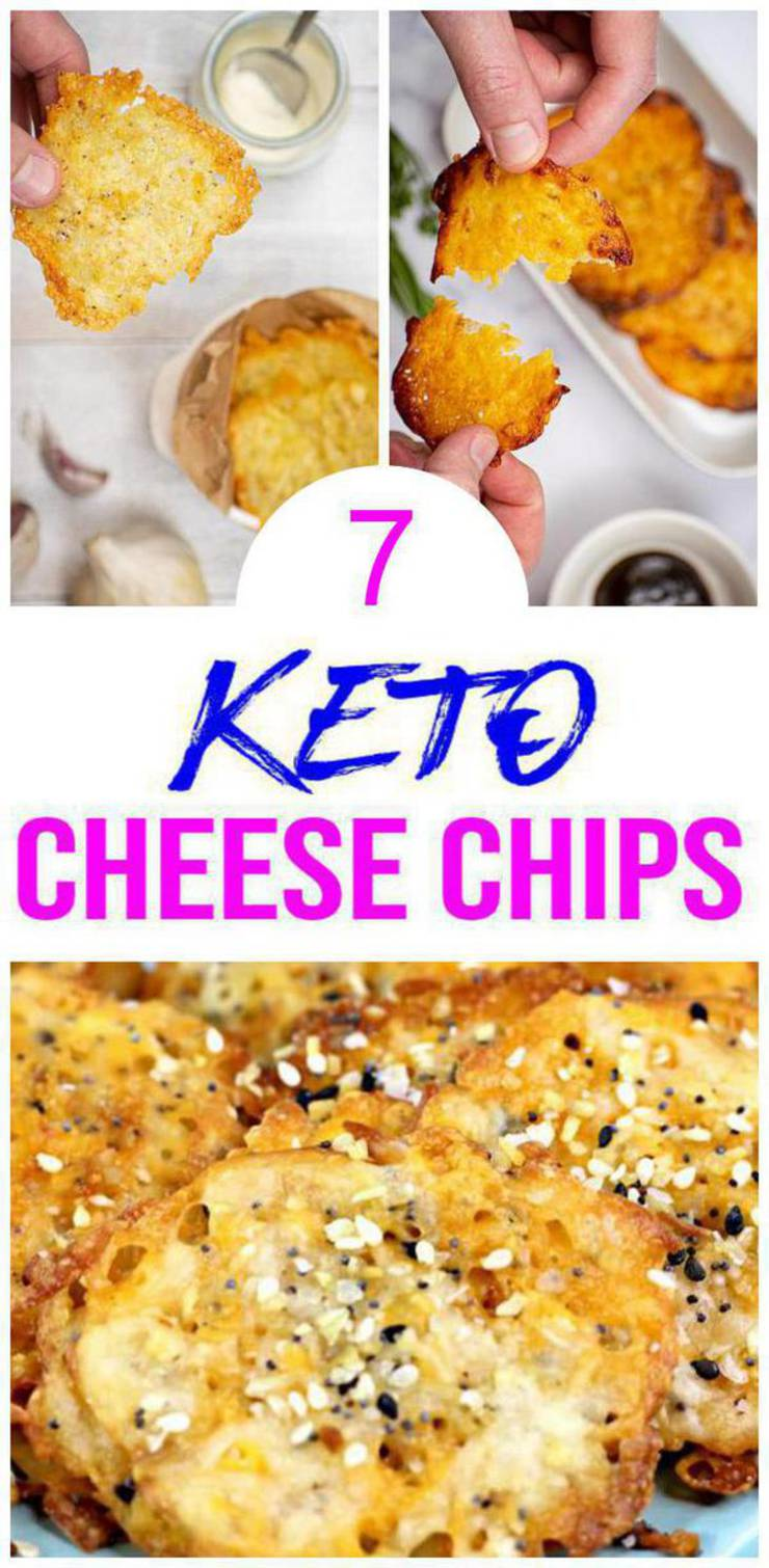 7 Keto Cheese Chips– BEST Low Carb Cheese Chips Recipes – Easy Ketogenic Diet Ideas