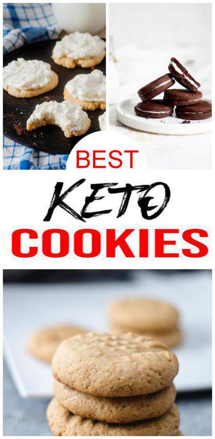 40 Keto Cookies- BEST Low Carb Keto Cookie Recipes – Easy Ketogenic Diet Ideas