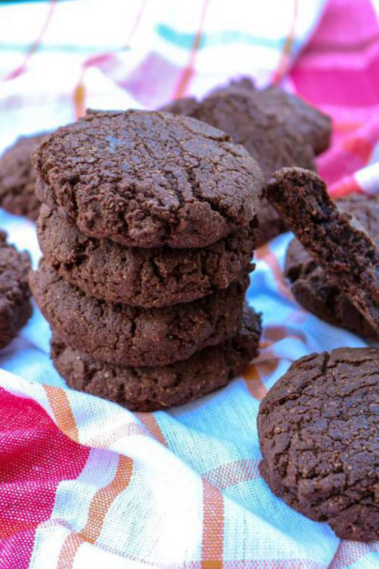 Best Keto Cookies Low Carb Keto Chocolate Brownie Cookies Idea Quick Easy Ketogenic Diet Recipe Completely Keto Friendly