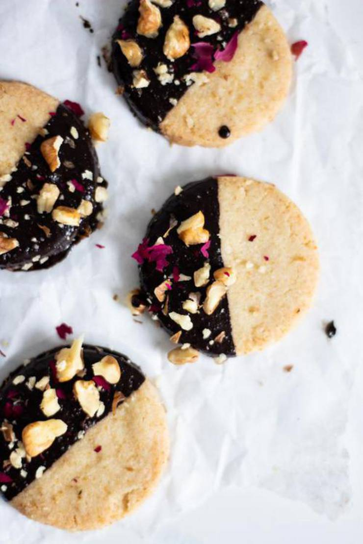 Best Keto Cookies Low Carb Shortbread Cookie Idea Quick Easy Ketogenic Diet Recipe Completely Keto Friendly