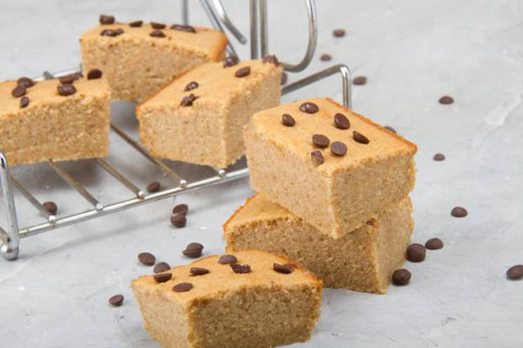 Keto Cookie Bars! BEST Low Carb Keto Peanut Butter Chocolate Chip Idea – Quick & Easy Ketogenic Diet Recipe – Gluten Free - Sugar Free