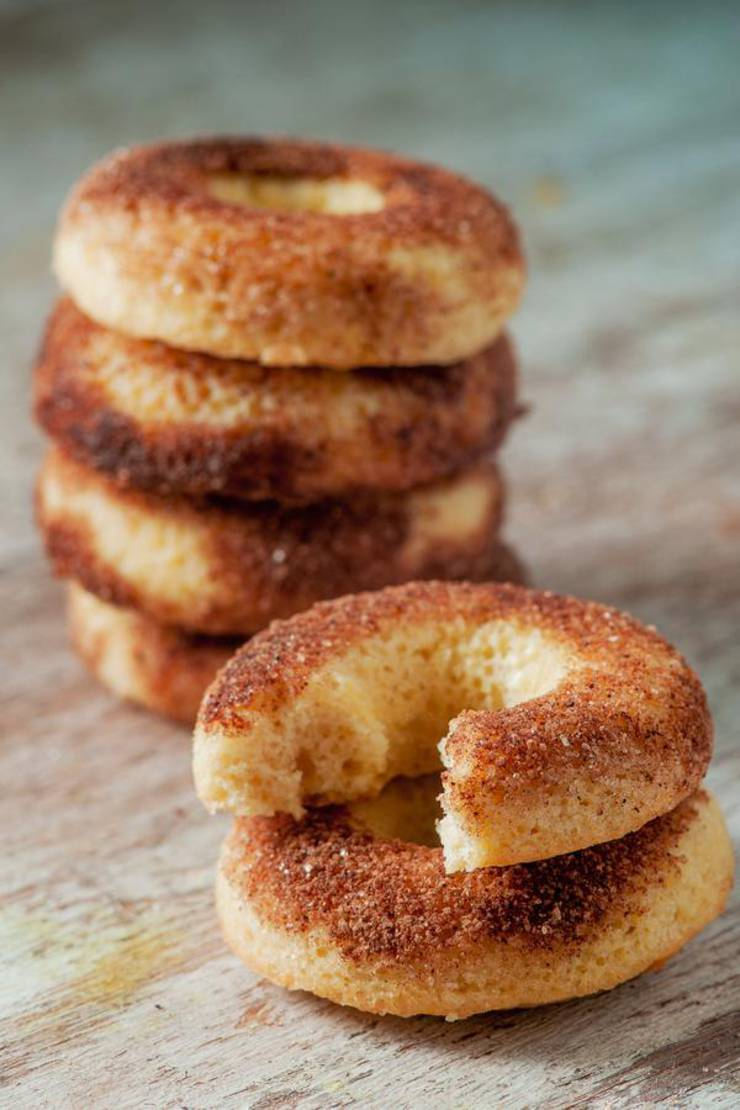 Keto Donuts | Super Yummy Low Carb Cinnamon Sugar Donut Recipe | Donuts For Ketogenic Diet