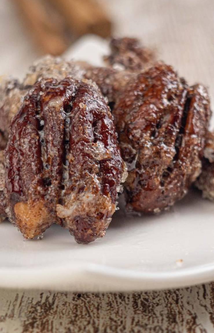 BEST Keto Pecans! Low Carb Keto Cinnamon Sugar Coated Pecans Idea – Sugar Free – Quick & Easy Ketogenic Diet Recipe – Completely Keto Friendly