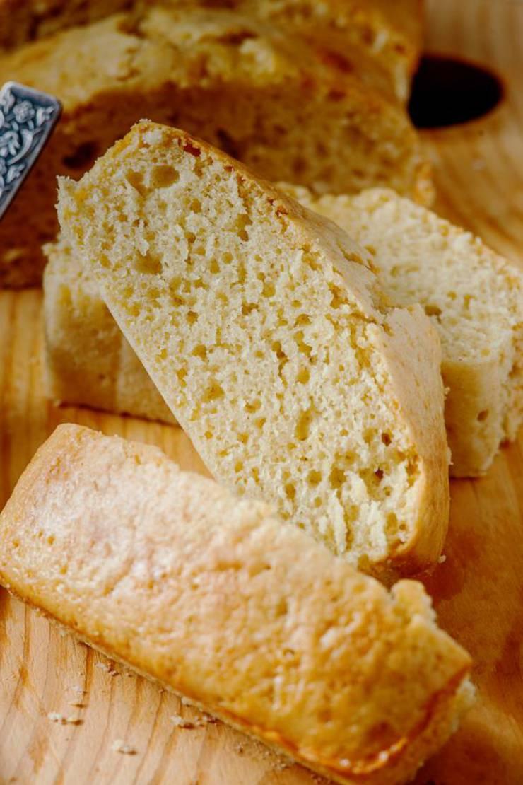 BEST Keto Bread! Low Carb Keto Cornbread Bread Idea – Quick & Easy Ketogenic Diet Recipe – Completely Keto Friendly – Gluten Free – Sugar Free