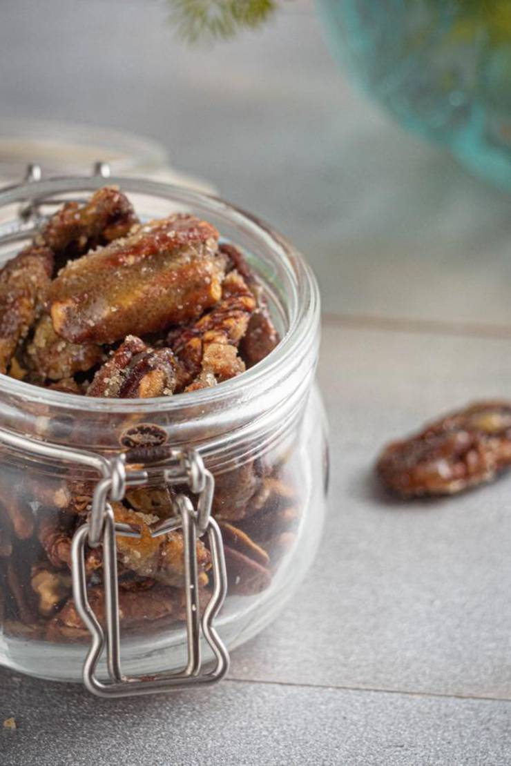 BEST Keto Pecans! Low Carb Keto Toffee Coated Pecans Idea – Sugar Free – Quick & Easy Ketogenic Diet Recipe – Completely Keto Friendly