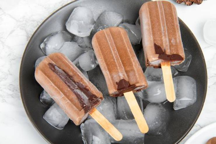 5 Ingredient Keto Fudgesicle Popsicles – BEST Keto Vegan Fudgesicles – {Easy – NO Bake} NO Sugar Low Carb Recipe
