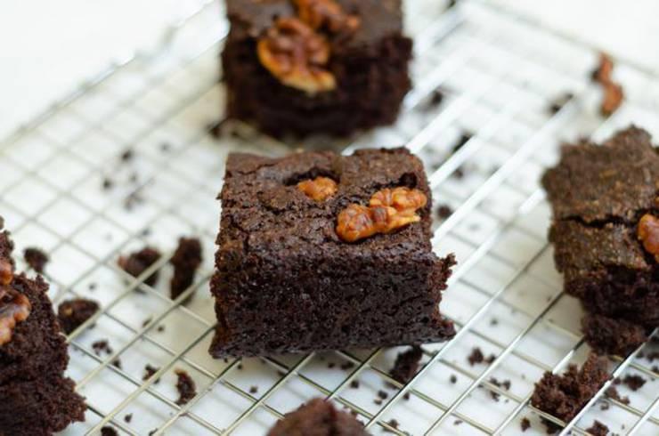 BEST Vegan Brownies! Fudgy Chocolate Brownie Idea – Quick & Easy Vegan Diet Recipe – Completely Vegan Friendly