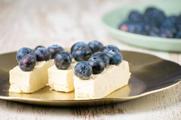Weight Watchers Dessert – The BEST Weight Watchers Recipe – Blueberry Lemon Creamsicles {Easy – No Bake}