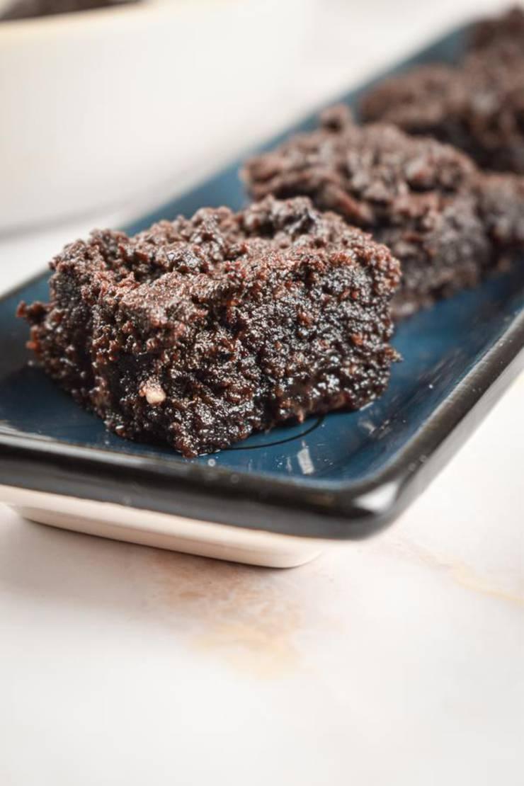 Keto Brownie Fat Bombs – BEST Chocolate Brownie Bites – Easy NO Sugar Low Carb Recipe - Desserts - Snacks