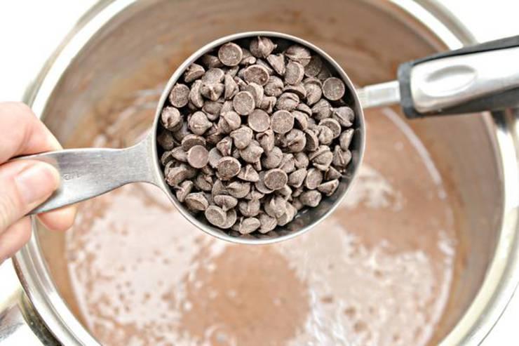 Keto Chocolate Mint Fudge