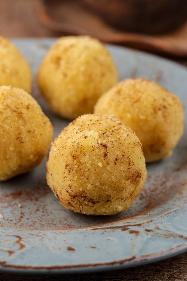 5 Ingredient Keto Cinnamon Sugar Fat Bombs – BEST Sugar Cookie Fat Bombs – NO Bake – Easy NO Sugar Low Carb Recipe
