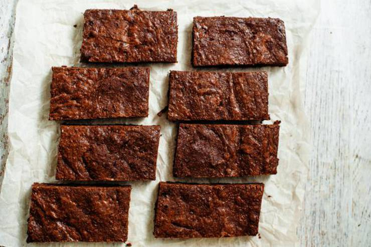 Keto Brownies - Super Yummy Low Carb Copycat Starbucks Double Chocolate Brownie Recipe - Desserts - Snacks - Treats For Ketogenic Diet