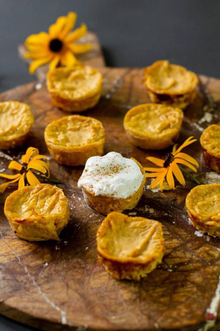 Keto Cheesecake! BEST Low Carb Keto Pumpkin Cheesecake Bites Idea – Quick & Easy Ketogenic Diet Recipe – Desserts - Snacks