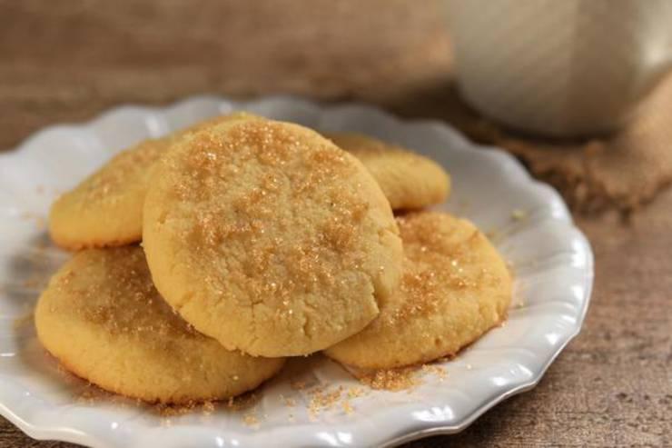 4 Ingredient Toffee Cookies – BEST Low Carb Keto Toffee Cookie Recipe – Easy NO Sugar – Gluten Free