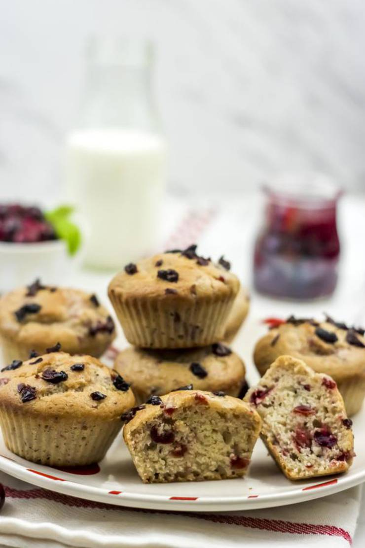 Weight Watchers Cranberry Muffins – BEST WW Recipe – Breakfast – Dessert – Treat – Snack with Smart Points