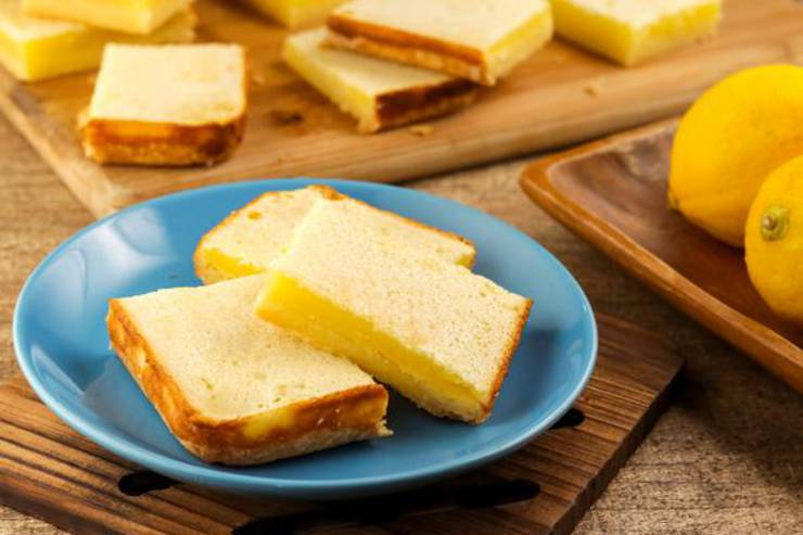 Weight Watchers Lemon Bars – BEST Lemon Bar Bites WW Recipe – Desserts – Treats – Snacks with Smart Points