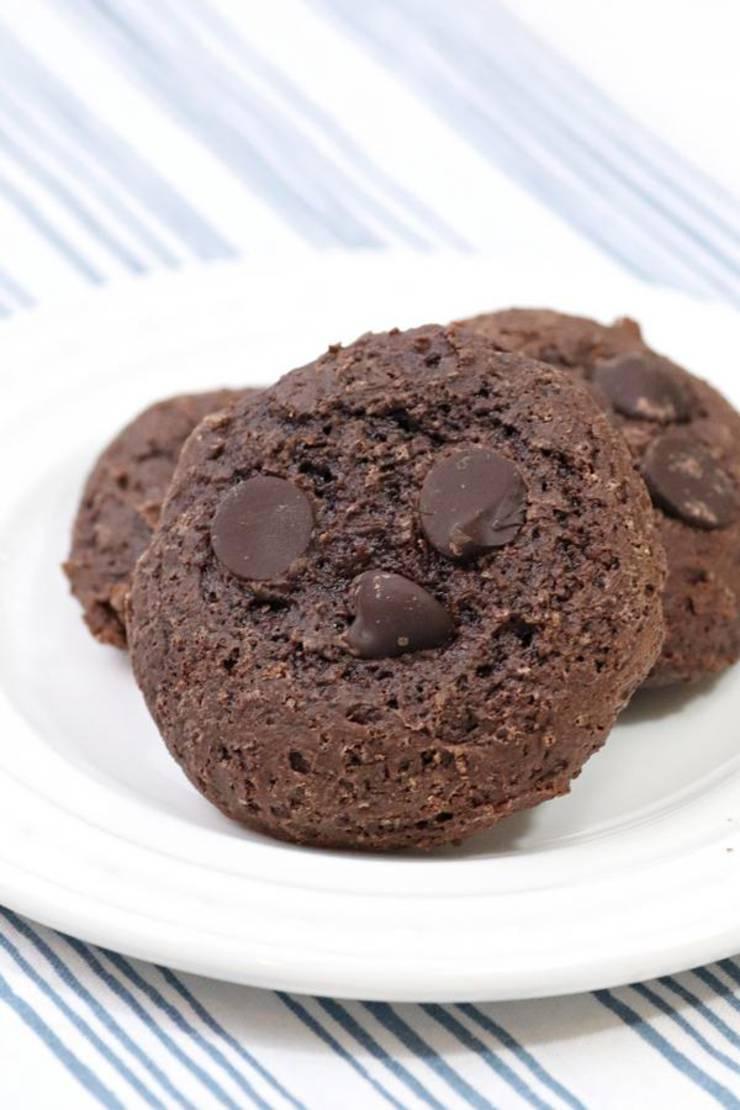 4 Ingredient Weight Watchers Chocolate Smores Cookies – BEST WW Recipe – Dessert – Treat – Breakfast – Snack with Smart Points