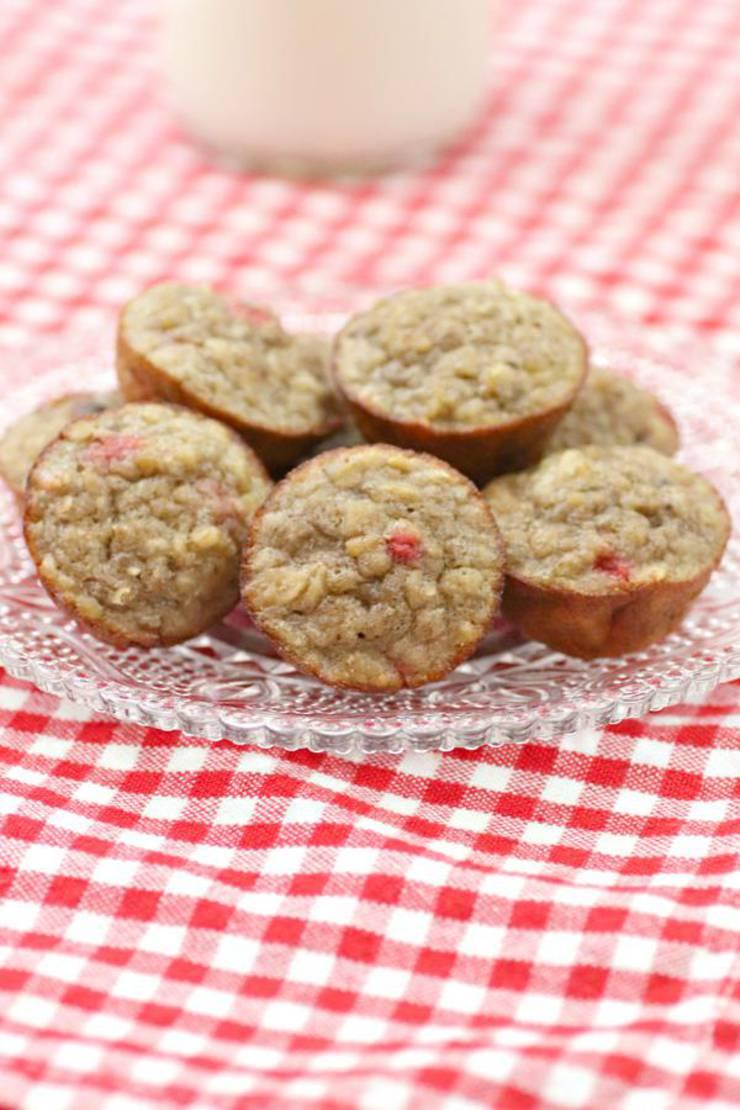 3 Ingredient Weight Watchers Strawberries and Cream Muffins – BEST