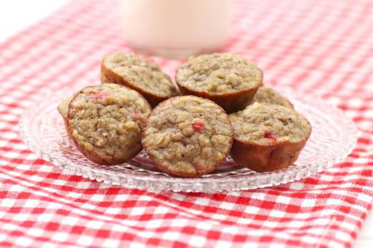 3 Ingredient Weight Watchers Strawberries and Cream Muffins – BEST WW Recipe – Breakfast – Dessert – Treat – Snack with Smart Points