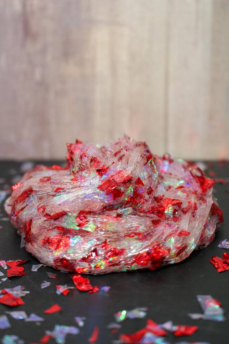 DIY Confetti Slime – How To Make Homemade Confetti Slime – Easy & Fun Recipe For Kids – Teens - Tweens – Party Favors – Crafts – Clear Slime