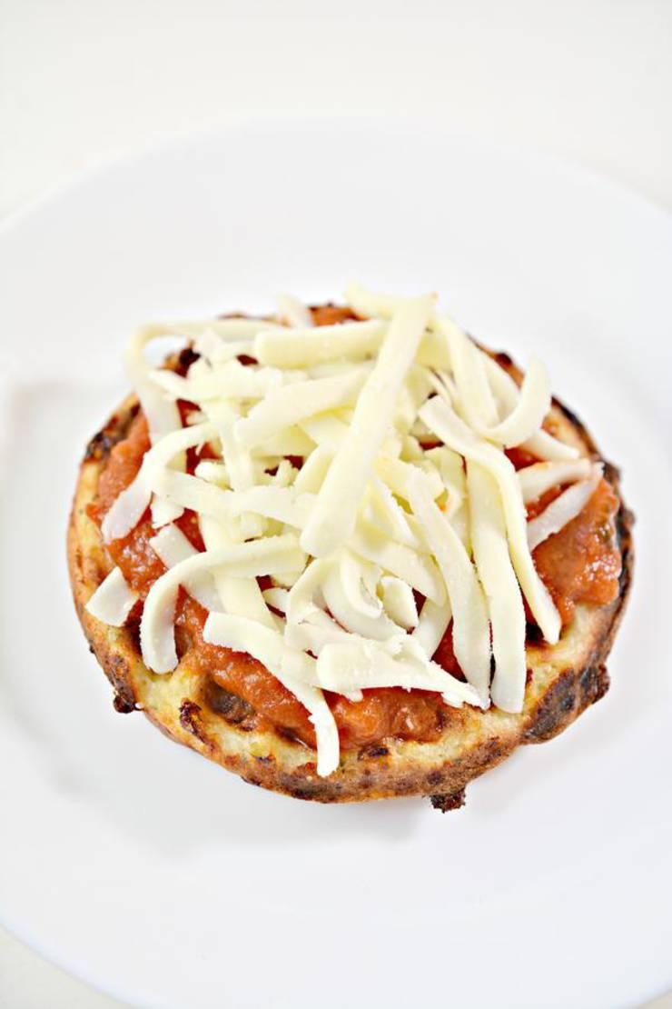 Keto Chaffle Pizza