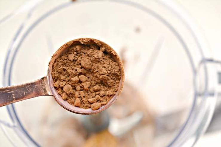 Keto Chocolate Peanut Butter Milkshake