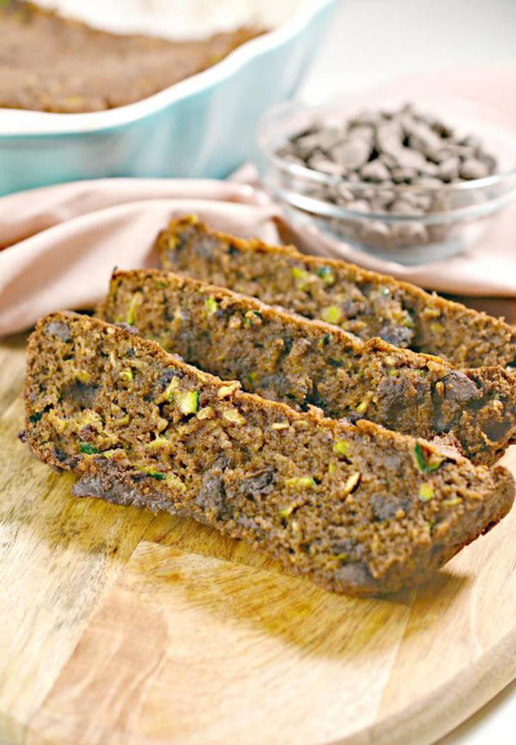 BEST Keto Bread! Low Carb Chocolate Zucchini Loaf Bread Idea – Quick & Easy Ketogenic Diet Recipe – Completely Keto Friendly – Gluten Free – Sugar Free